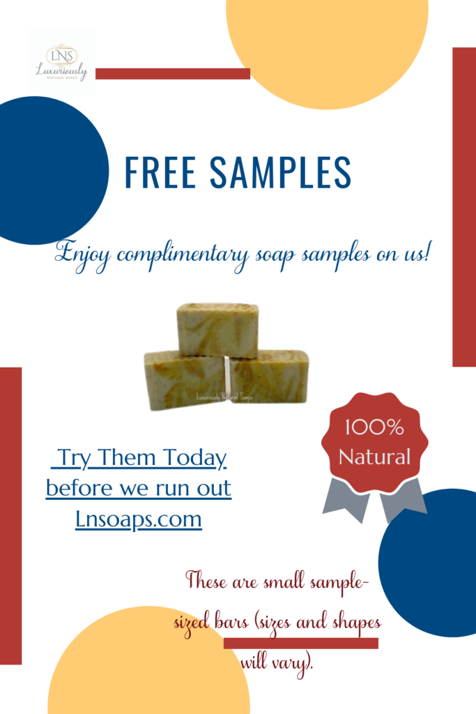 Want to try natural some samples?  We'll send you a variety of samples to try in your beauty regimen.