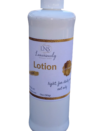 Natural Lotion for Dry Skin